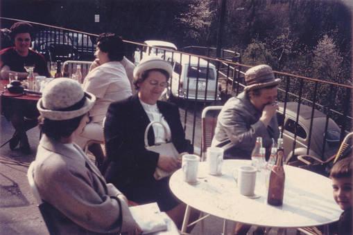 Pause auf der Terrasse