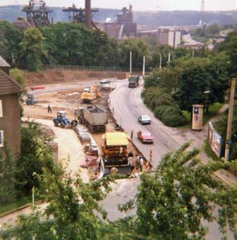 Baustelle in Hattingen