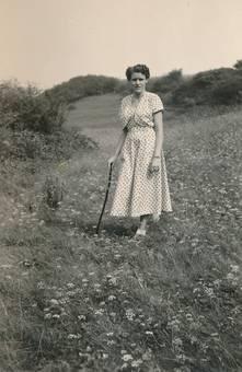 Spaziergang im Kleid
