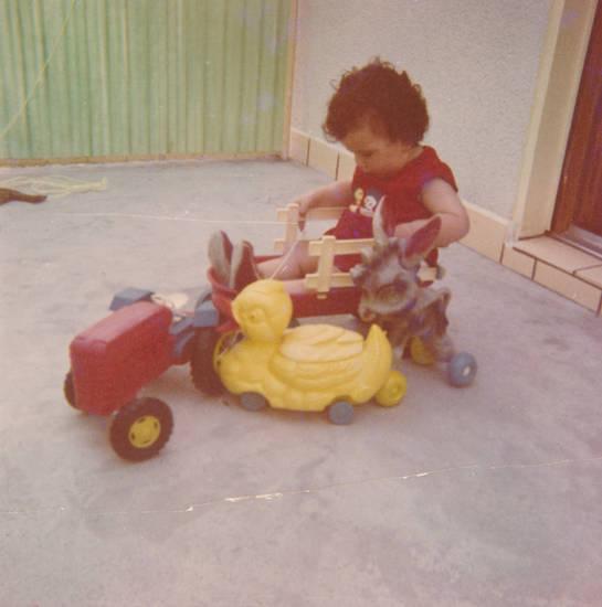 anhänger, Ente, Esel, Kindheit, Spielzeug, traktor