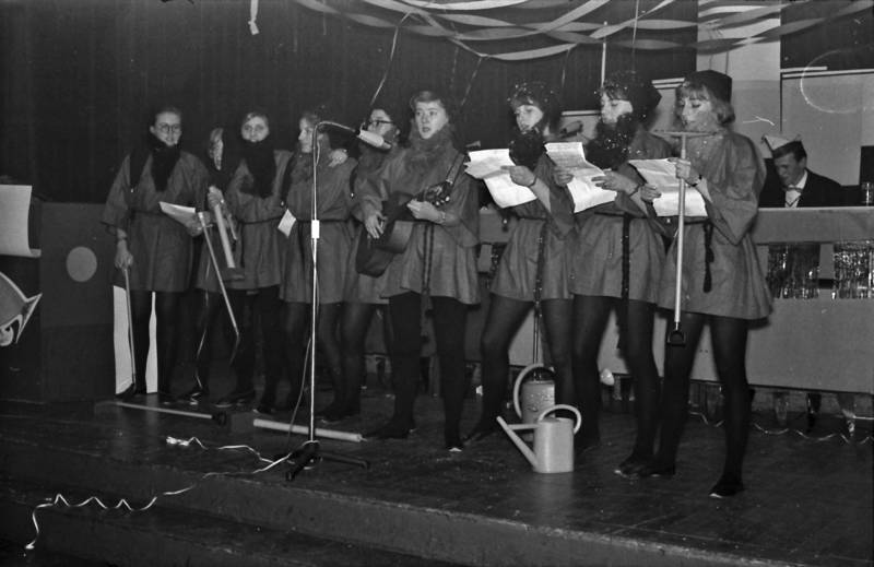 Fasching, fastnacht, karneval, Kostüm, musikinstrument, Singen, Vorführung, zwerg