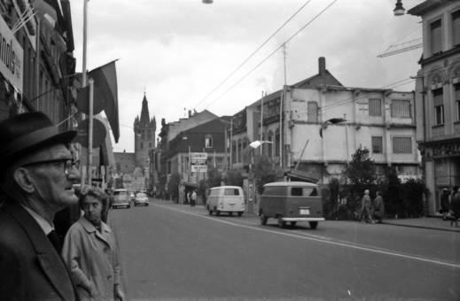 Fahnen in Trier