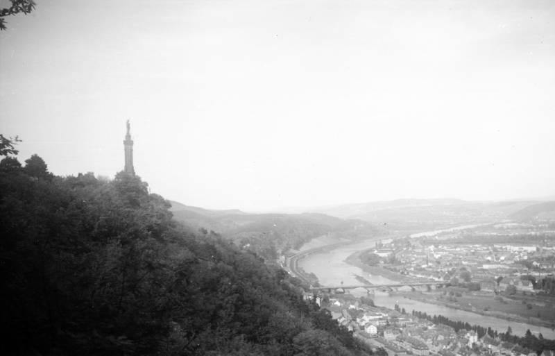 brücke, Kaiser-Wilhelm-Brücke, Mariensäule, Mosel, pulsberg, Trier