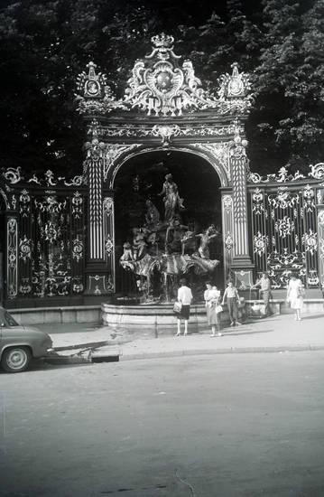 Amphitrite-Brunnen, Frankreich, Lorraine, Lothringen, nancy, Place Stanislas