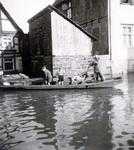 Rudern im Hochwasser