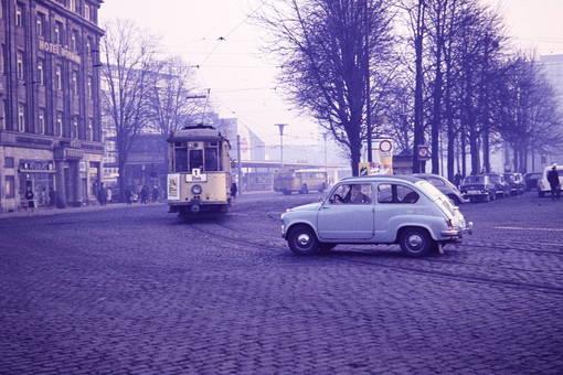 Straßenverkehr in Koblenz