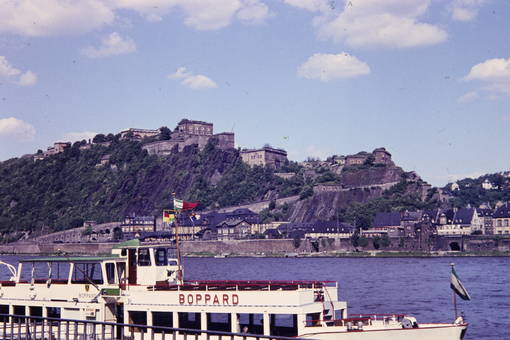 Rhein in Koblenz