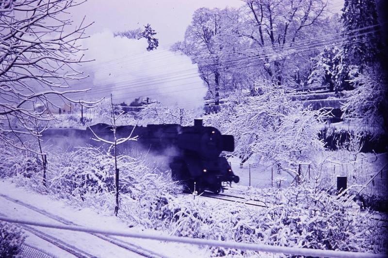 BR 01, BR 03, Dampflok, Lok, schnee, winter, zug