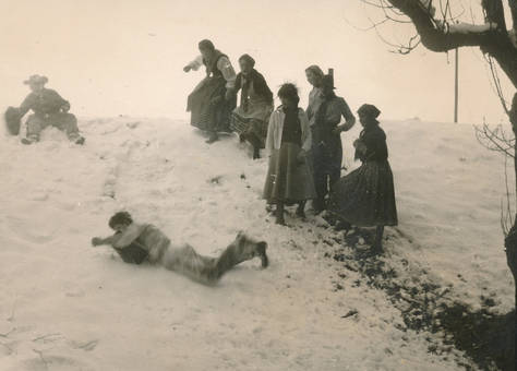 Karneval im Schnee