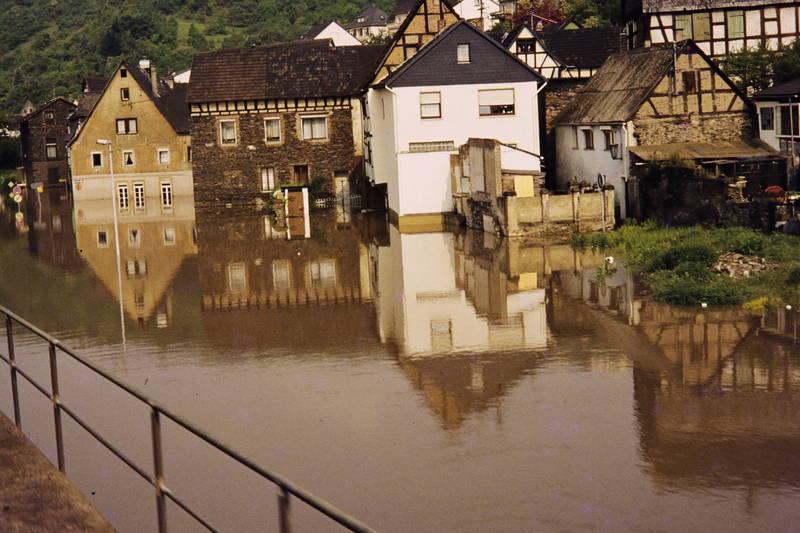 Fahr, Hochwasser, Neuwied, Rhein, überschwemmung