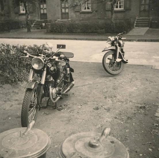KFZ, Kindheit, Maschine, Motorrad