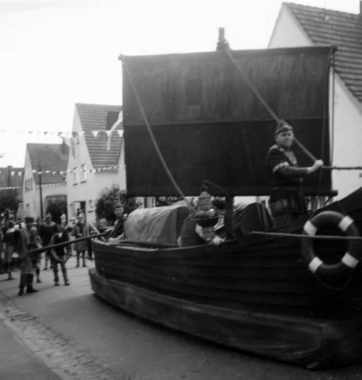 550jähriges Jubiläum, festzug, haus, Jubiläum, schiff, straße