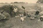 Picknick im Feld
