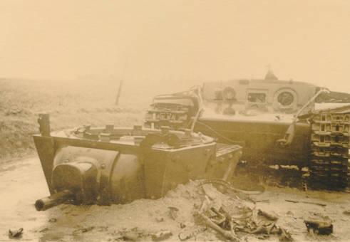Kaputter Panzer