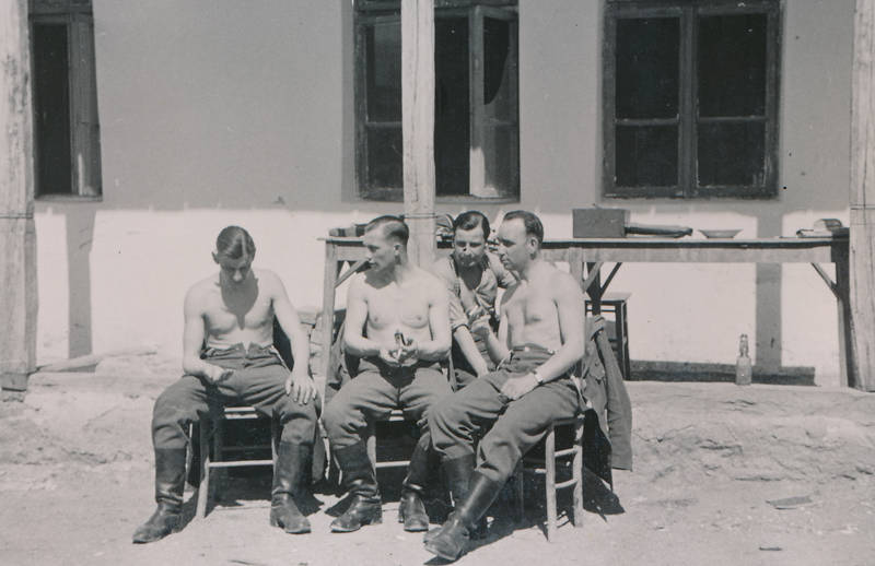 2.Weltkrieg, soldat, Sommer, sonnen, Sonnenbad, Wehrmacht