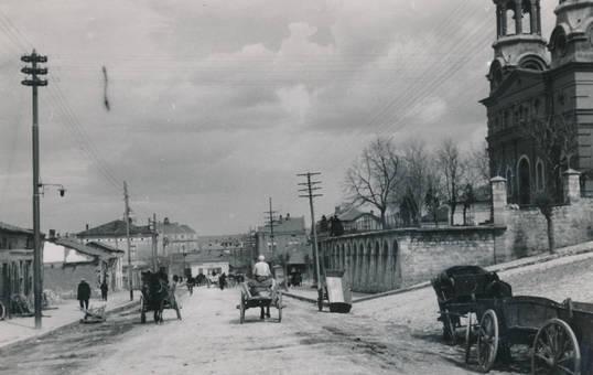 Straßenszene in Bulgarien