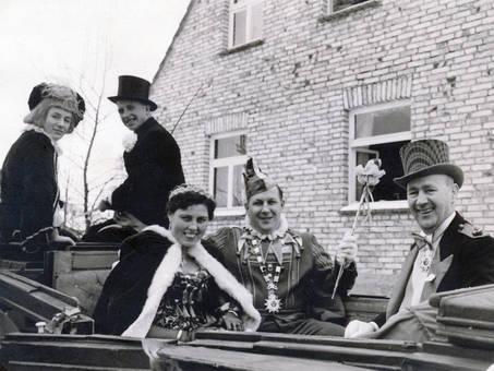 An Karneval im Wagen