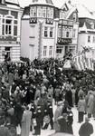 Menschenmenge an Karneval