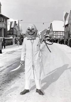 Maskenmann an Karneval
