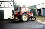 Traktor mit erlegtem Wild