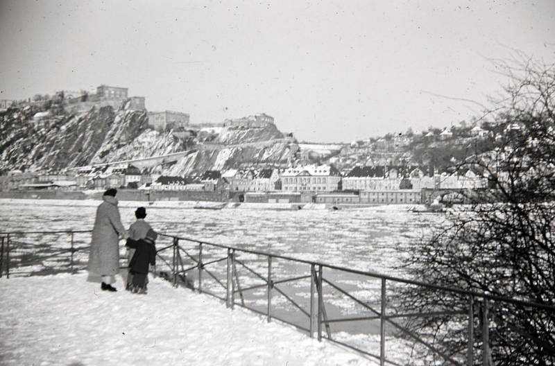 Eis, Eisscholle, Festung Ehrenbreitstein, fluss, Koblenz, Rhein, schnee, winter