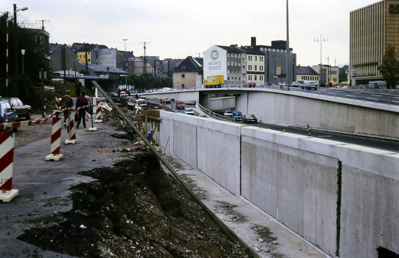 BAuarbeiten, Baustelle, brücke, Koblenz, moselring, straße