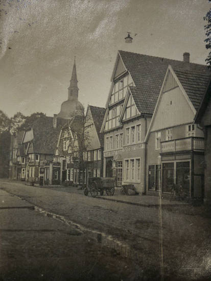 fachwerk, heuwagen, kirche, Rathausstraße, rietberg, Sankt Johannes Baptist Kirche
