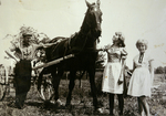 Heuen zu Pferd