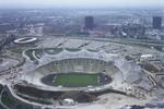 Olympiastadion im Bau