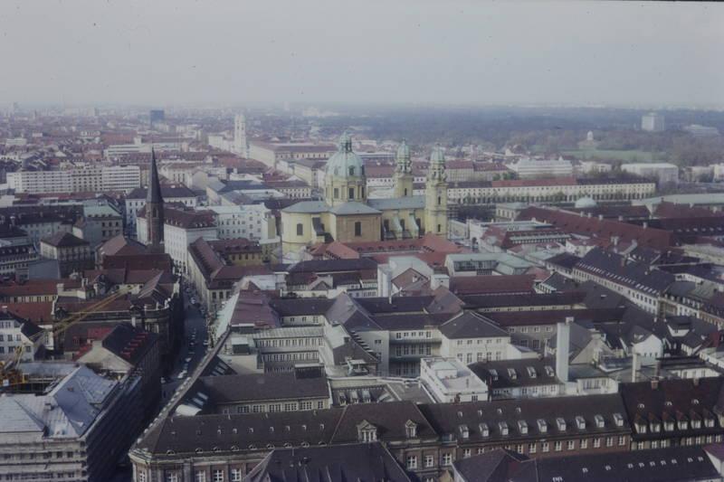 kirche, münchen, Panorama, theatinerkirche
