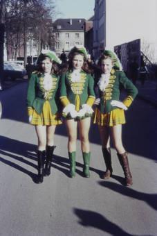 Drei Tanzmariechen
