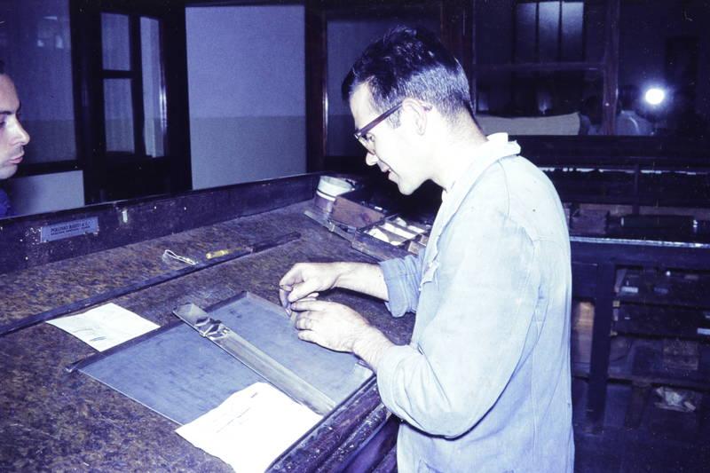 bleisatz, Druckerei, handsatz, verlag, Werkstatt