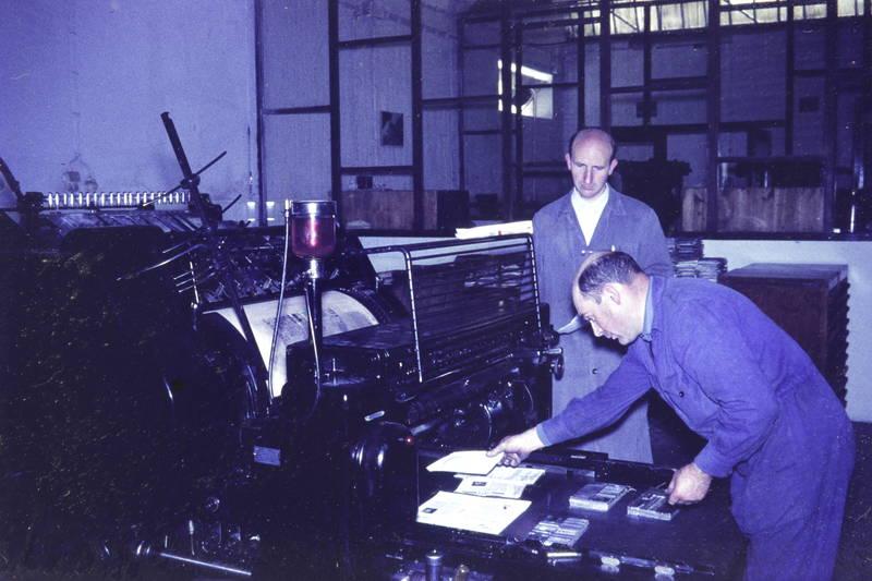 bleisatz, Druckerei, Druckmaschine, Walze
