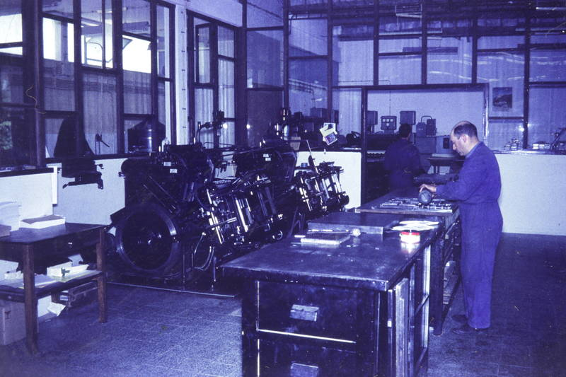 bleisatz, Druckerei, Maschine, Werkstatt