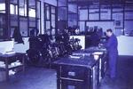 Arbeit in der Druckerei