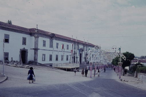 Geschmückte Straße