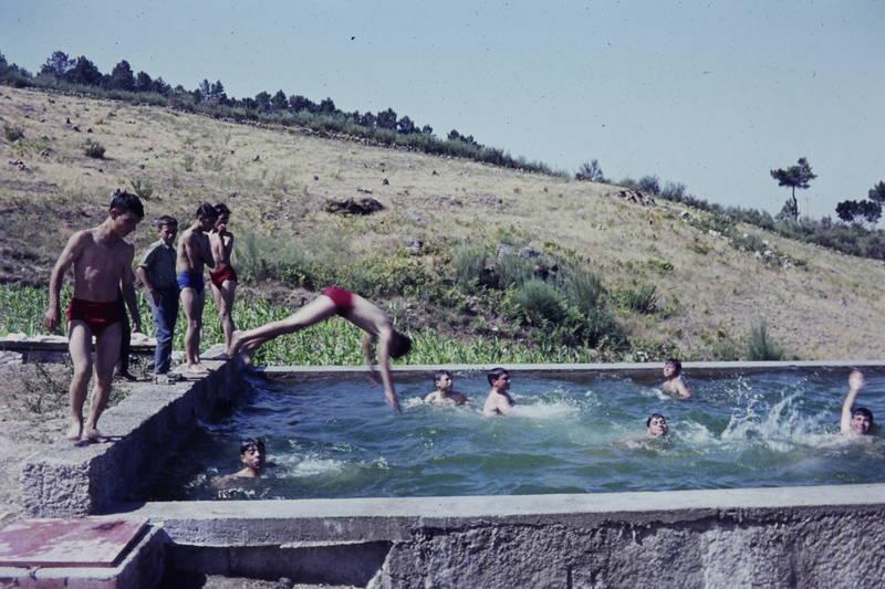 badehose, Kindheit, pool, Schwimmbecken, Spaß