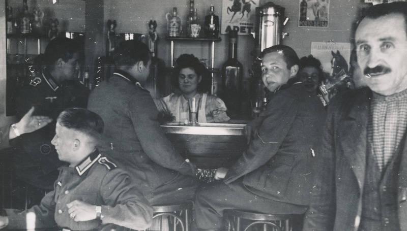 2.Weltkrieg, bar, Glas, kneipe, soldat, Uniform, Wehrmacht