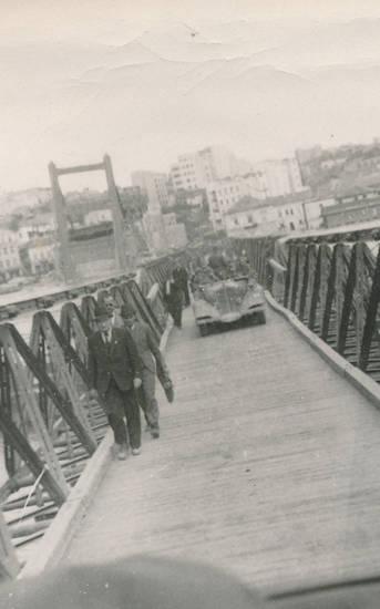 2.Weltkrieg, auto, brücke, KFZ, PKW, soldat, Wehrmacht
