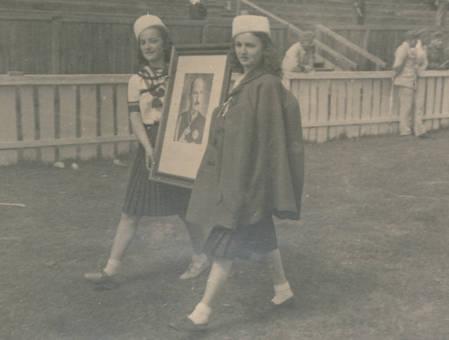 Porträt-Trägerinnen