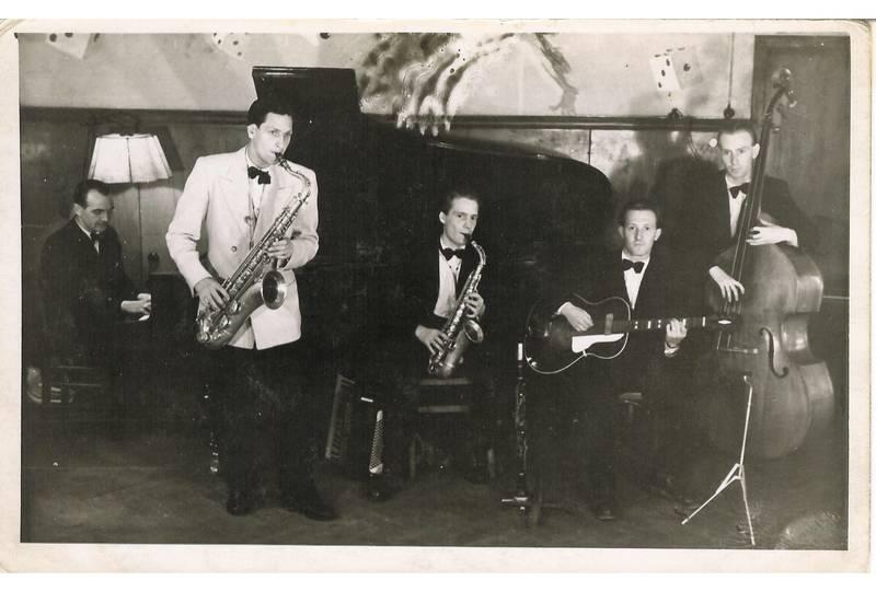 auftritt, Jazz, jazzgitarre, köln, musiker, schlaggitarre, tanzorchester