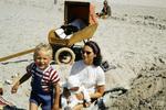 Am Strand mit Kindern