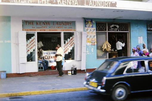 Kenianischer Waschsalon