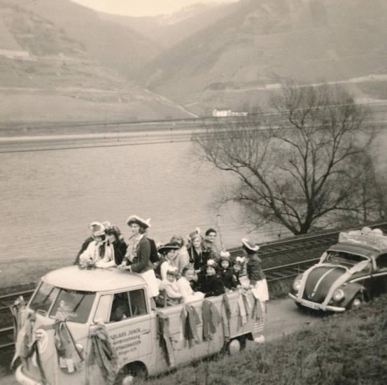 Bulli, Fasching, fastnacht, käfer, karneval, KFZ, PKW, Trechtingshausen, volkswagen, vw, VW-Käfer, vw-pritsche