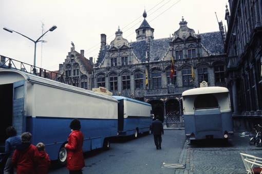 Busse in Belgien