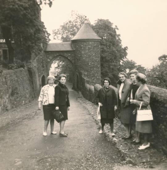 Burg Reichenstein, burgtor, mode, Tasche, torbogen