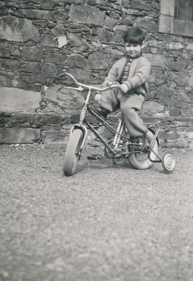 Burg Rheinstein, fahrrad, Kindheit, lernen, stützräder