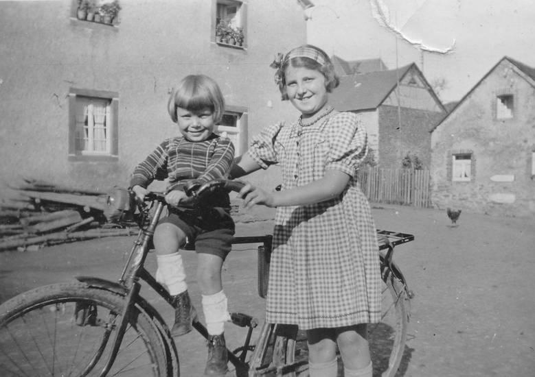 drahtesel, fahrrad, Kindheit, Landleben, Zweirad