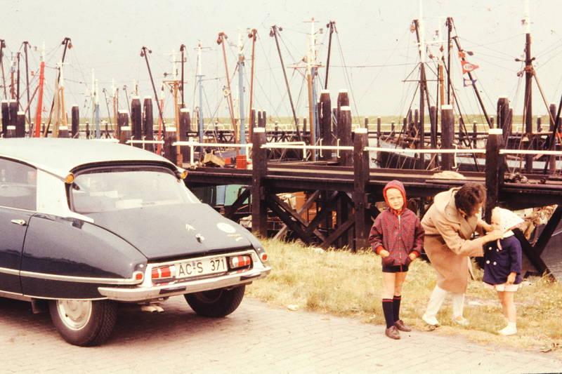 auto, boot, Citroën DS, citroen-ds, KFZ, Kindheit, PKW, Segelboot