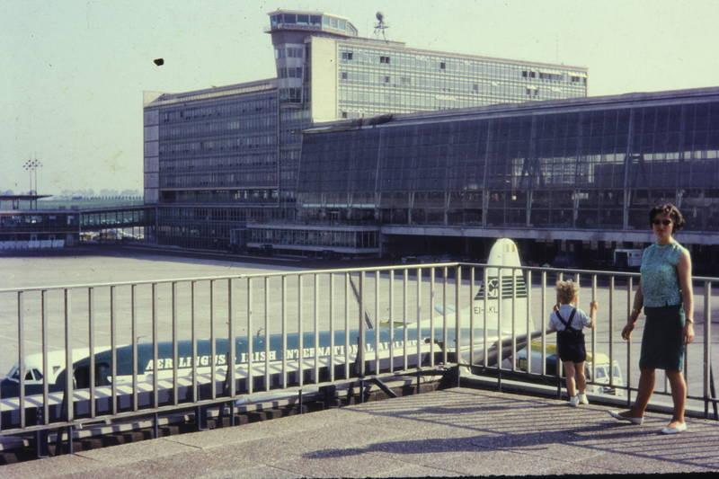 Aussichtsplattform, bus, Flughafen, Flugplatz, flugzeug, Geländer